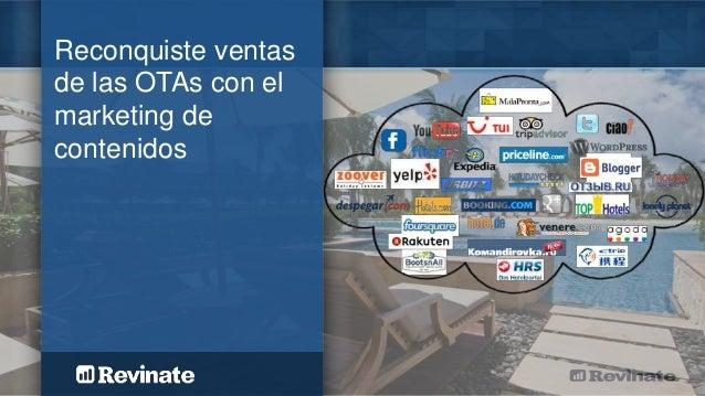 Reconquiste ventas de las OTAs con el marketing de contenidos