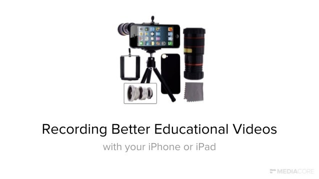 This guide is for any educator interested in producing video resources to support their teaching, and their students' lear...