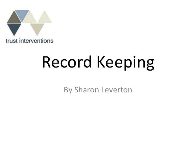 Record keeping v1