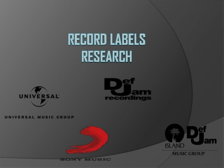Record LabelsResearch<br />