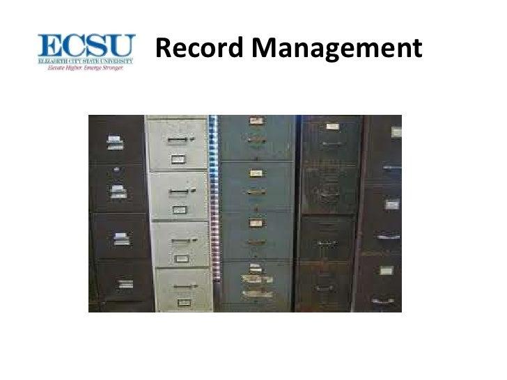 Record managementnew