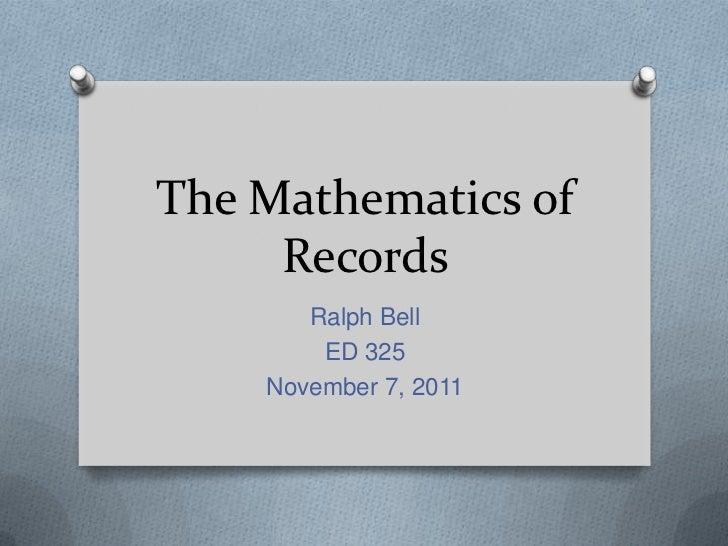 Records eNotebook
