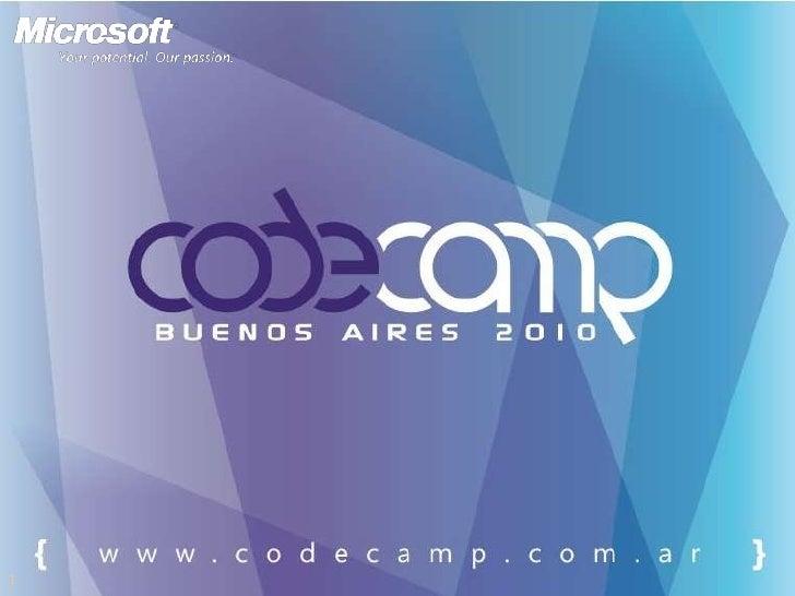 CodeCamp 2010 | Recorriendo ocs 2010