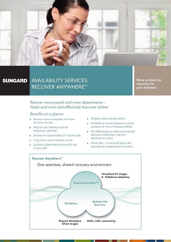 SunGard Recover Anywhere