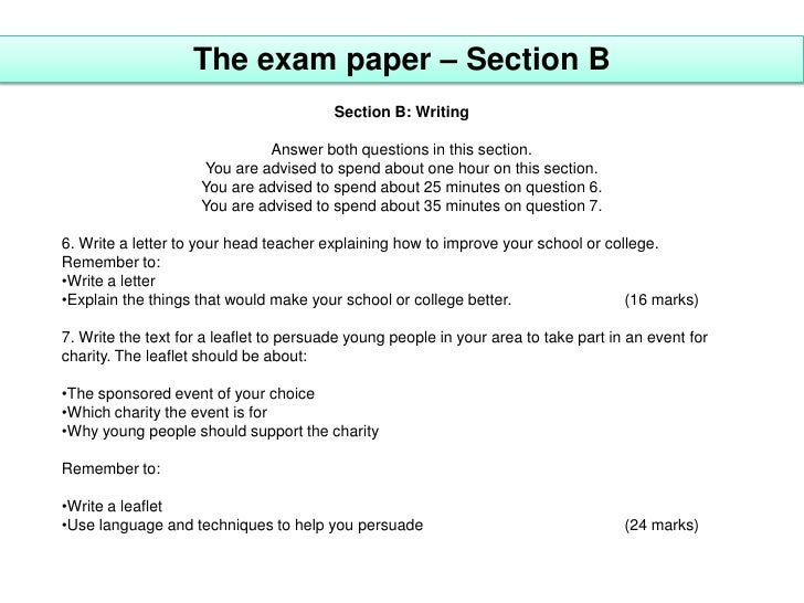 Write my papers gcse