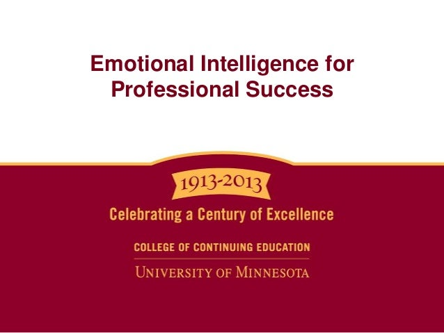 Emotional Intelligence for Professional Success