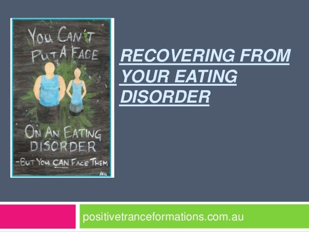 Recovering from your eating disorder