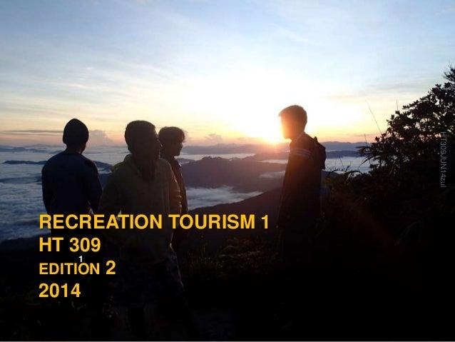 Recreation tourism 1 edit2014