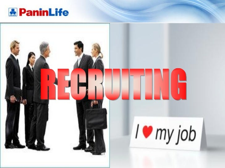 INTRODUCTION TO RECRUITWhen learning to read, you start with : A – B - CWhen learning to sing, you start with : Do – Re - ...