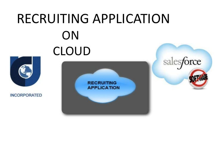 Recruiting application on cloud