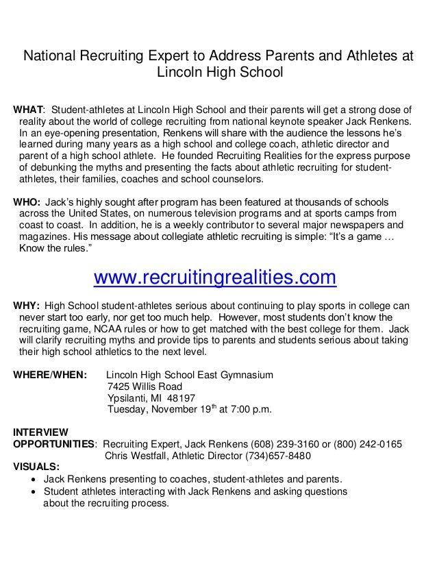 Recruiting realities
