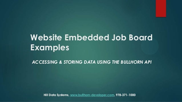 Recruiting & staffing agency website embedded job board examples
