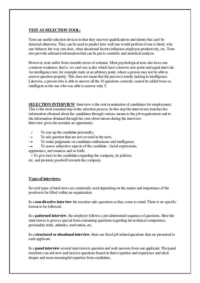 technology in recruitment selection business essay Research paper on technology and human resource  research paper on technology and human  recruitment, selection and.