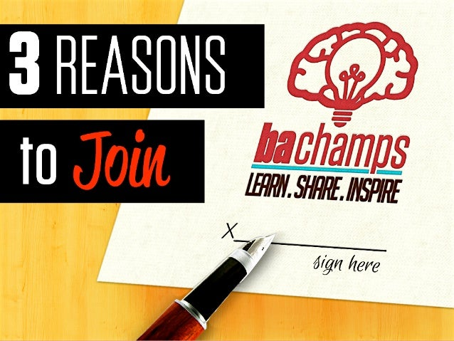 COVER3 REASONS TO JOIN