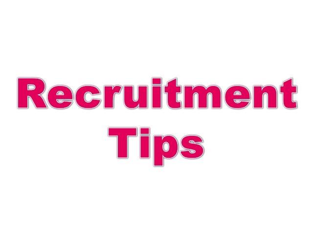 External Recruitment