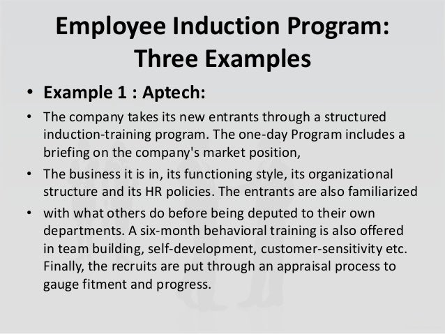 The Importance of inducting new Employees to your workplace