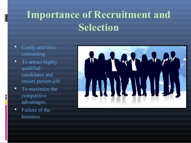 recruitment and selection process of eastern