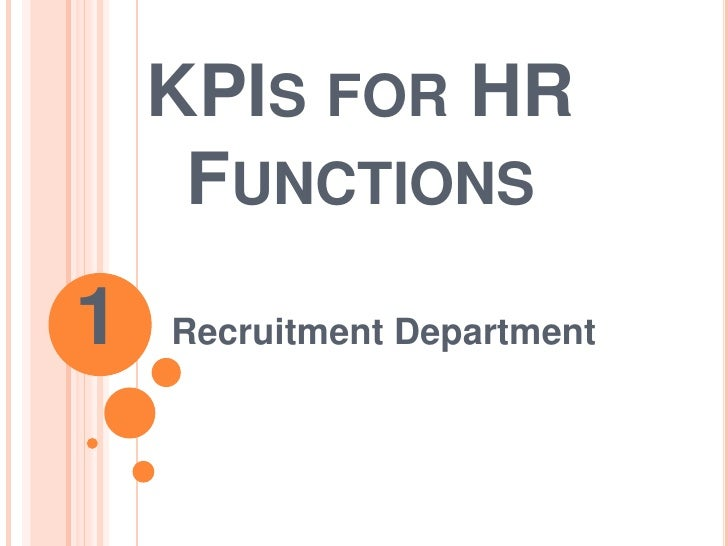 Recruitment Department Kp Is