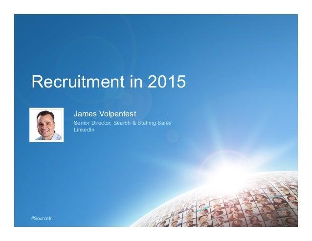 Recruitment in 2015