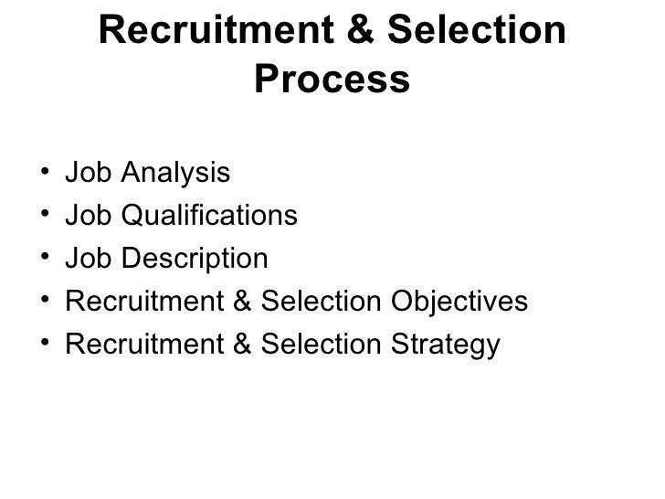 Recruitment of sales executive