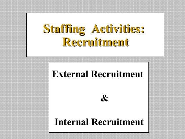 Recruitment online