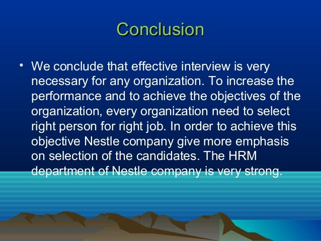 report on recruitment and selection process of nestle Understanding employers' graduate recruitment and selection 63 overview of the selection process 84 graduate recruitment and selection practices and.