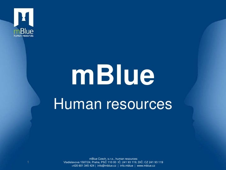 mBlue - Recruitment skills for managers Czech