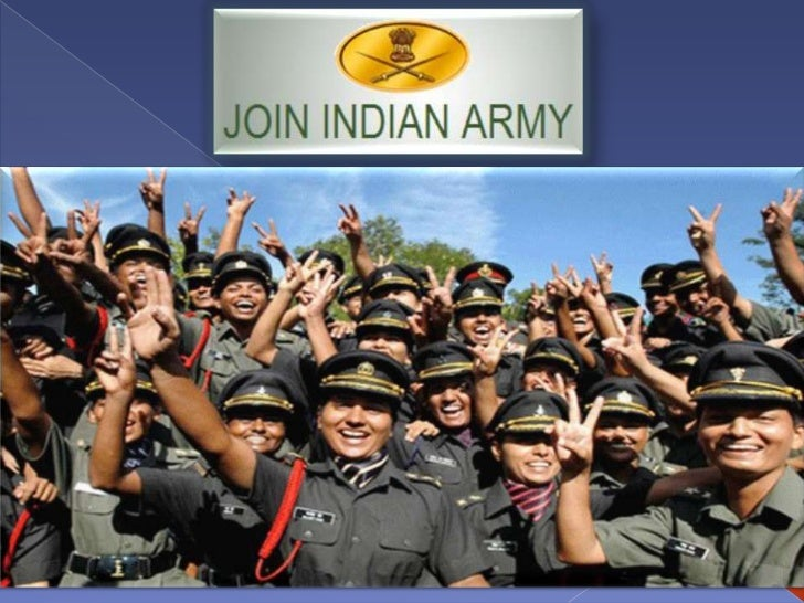 Recruitment strategy  for Indian Army
