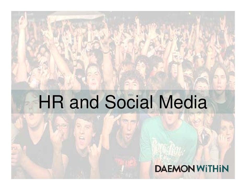 Recruitment through Social Media