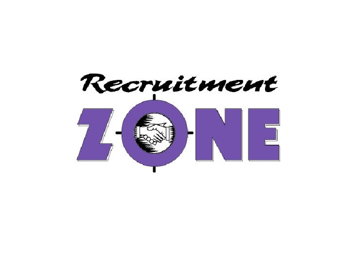 Recruitment Zone Presentation