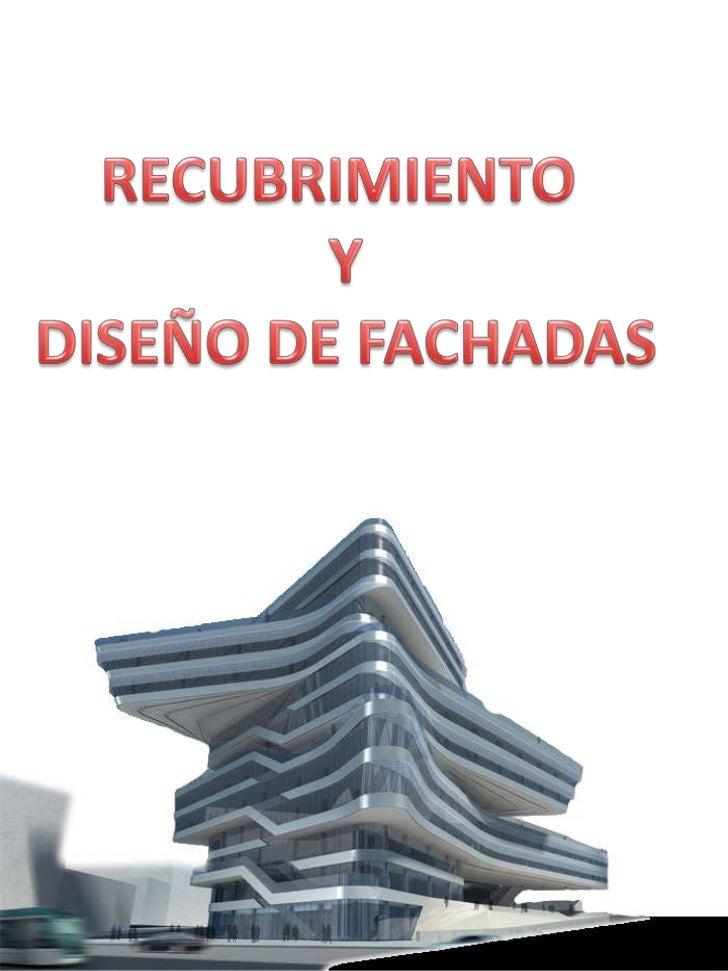 Recubrimiento y dise o de fachada - Recubrimiento de fachadas ...