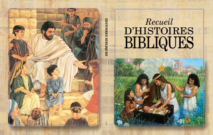 RecueilHISTOIRES BIBLIQUES                      D'HISTOIRES                      BIBLIQUES    my-F