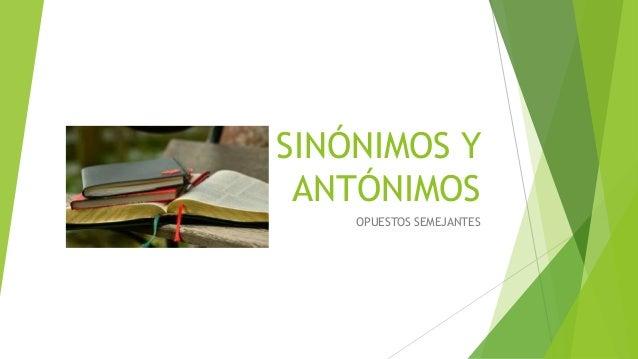 Armario Sinonimos Y Antonimos ~ Recurso digital sinónimos y antónimos