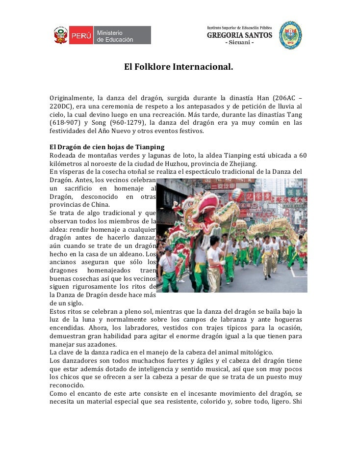 Folklore Internacional
