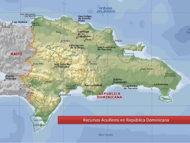 Recursos acuiferos en República Dominicana