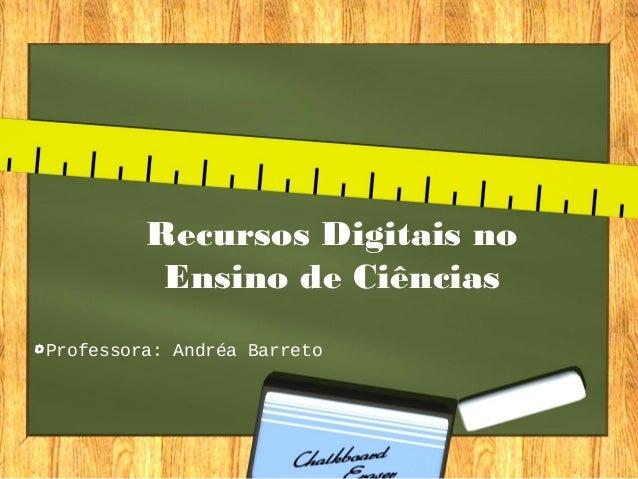 Recursos digitais