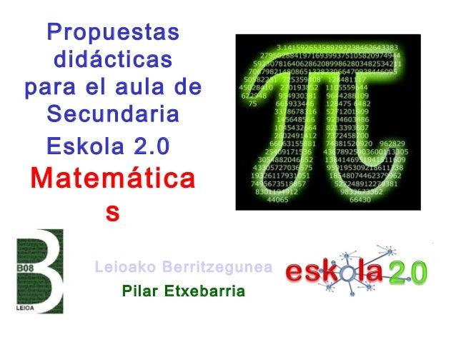 Recursos digitales matemáticas