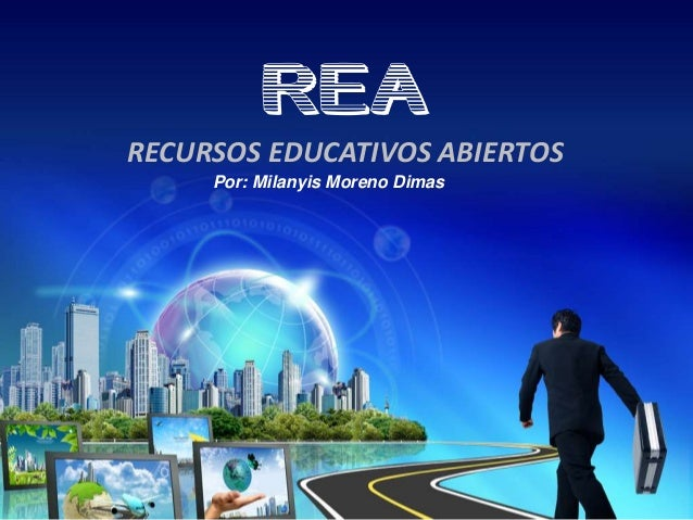 REARECURSOS EDUCATIVOS ABIERTOSPor: Milanyis Moreno Dimas