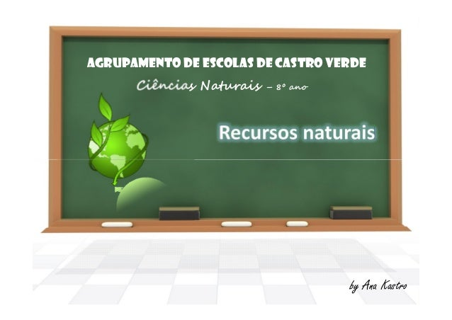 AGRUPAMENTO DE ESCOLAS DE CASTRO VERDE Ciências Naturais – 8º ano by Ana Kastro