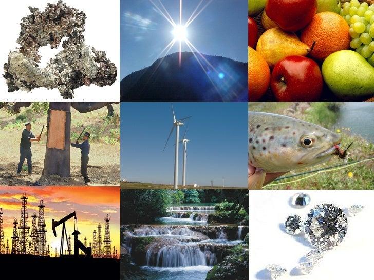 Recursos naturais i