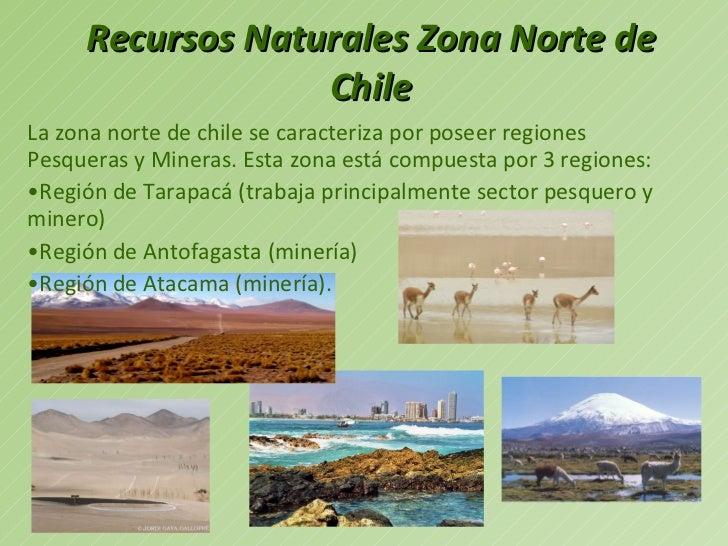 Decoracion Zona Norte De Chile ~ recursos naturales zona norte de chile ul li la zona