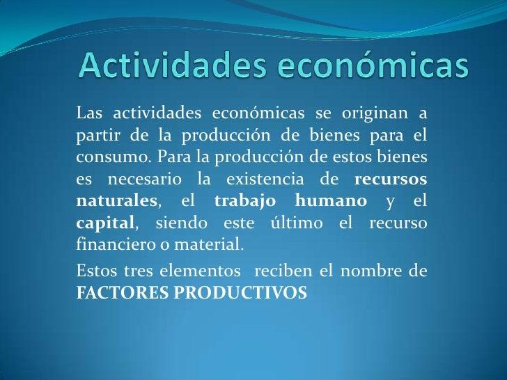 Recursos naturales actividades economicas - Cual es la calefaccion mas economica ...