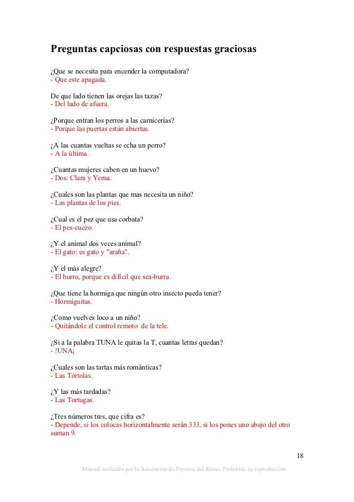 Preguntas Capciosas Chistosas Preguntas Capciosas Con