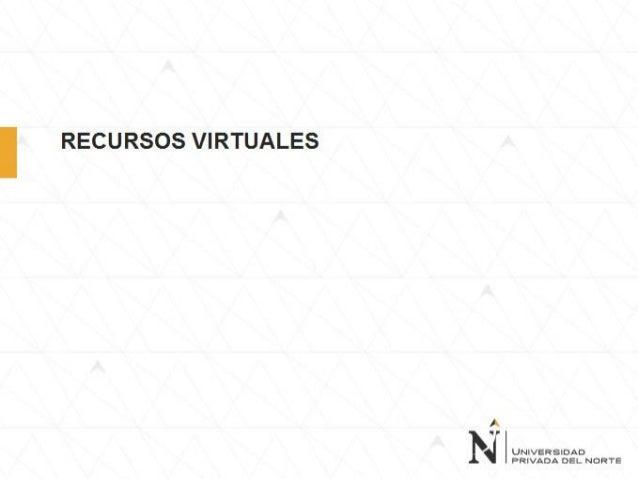 RECURSOS VIRTUALES DE BIBLIOTECA