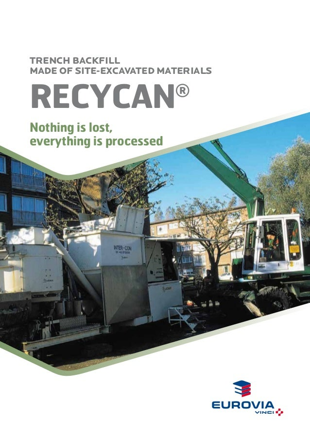 Recycan® - Nothing is lost, everything is processed