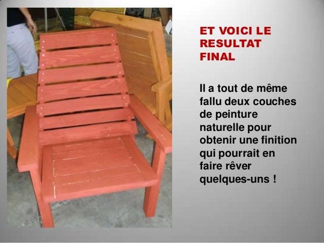 Recyclage de palettes en meubles - Rever de faire une fausse couche ...