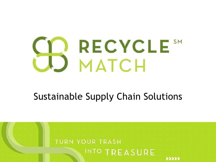 Sustainable Supply Chain Solutions