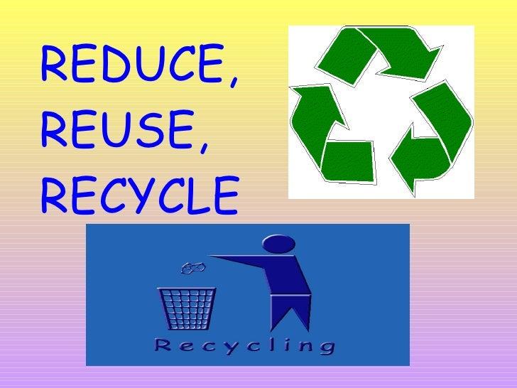 Recycle Presentation