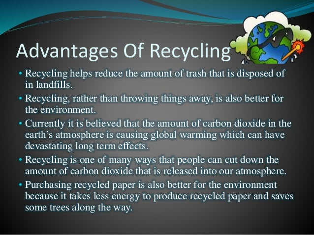 an essay about recycling Persuasive recycling research paper thank you for making brillianttermpapers the custom essay services provider of your choice type of paper: academic level.