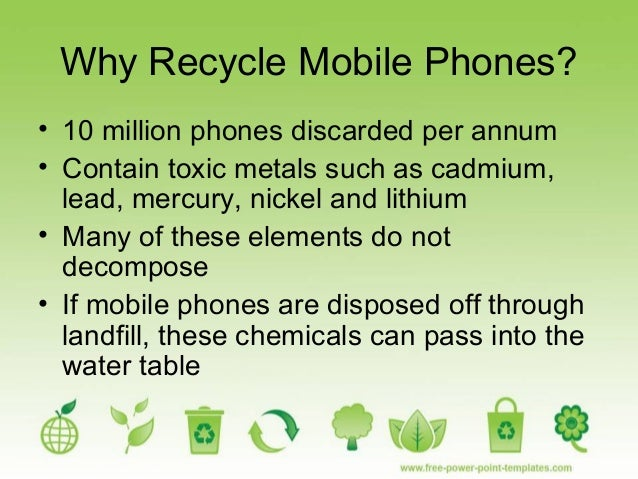 Recycling mobile phones - Recycling mobel ...